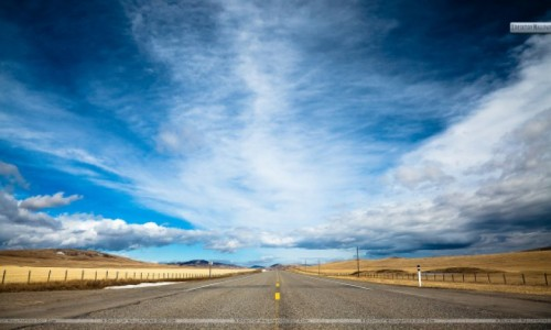 Blue-Road-And-Sky